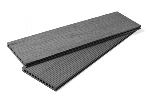 Vintage Composite Decking Board - Smoked Grey